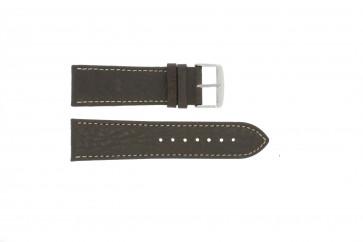 Pasek do zegarka Uniwersalny 307.02 Skórzany Brązowy 20mm