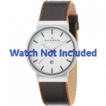 Pasek do zegarka Skagen 351XLSL Skórzany Brązowy 20mm