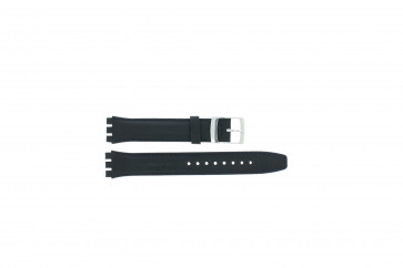 Strap Appropriate To Swatch Ciemnoniebieski Wp-51643-17mm