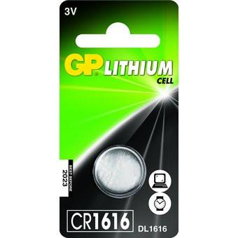 Button Cell Gp Cr1616