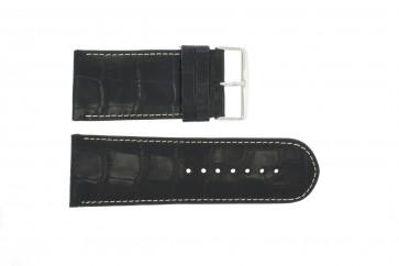 Pasek do zegarka Uniwersalny 61324.10.34 Skórzany Czarny 34mm