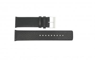 Pasek do zegarka Skagen 806XLTLM / 806XLTBLB Skórzany Czarny 24mm