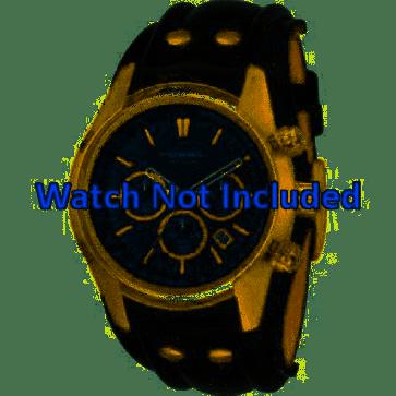 Pasek do zegarka Fossil CH2615 Skórzany Czarny 22mm