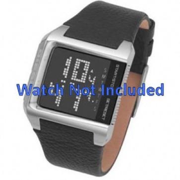 Pasek do zegarka Diesel DZ7094 Skórzany Czarny 24mm