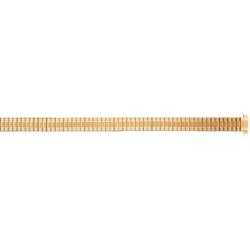 Pasek do zegarka Uniwersalny FEB603 Stal Pozłacany 8mm