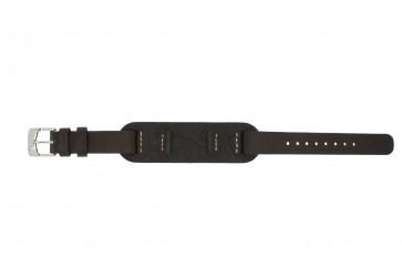Pasek do zegarka Fossil JR1158 Skórzany Brązowy 14mm