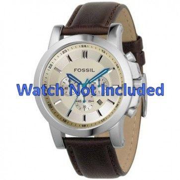 Pasek do zegarka Fossil FS4248 Skórzany Brązowy 22mm