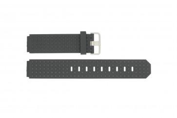 Pasek do zegarka Jacob Jensen 400 / 410 / 411 / 412 Gumowy Czarny 17mm