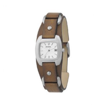Pasek do zegarka Fossil JR8897 Skórzany Brązowy 12mm