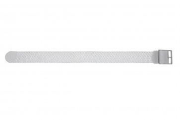 Pasek do zegarka WoW PERLON-18-WIT Nylon/perlon Biały 18mm