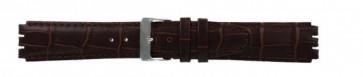 Pasek do zegarka Swatch (alt.) 21414.27 Skórzany Brązowy 17mm