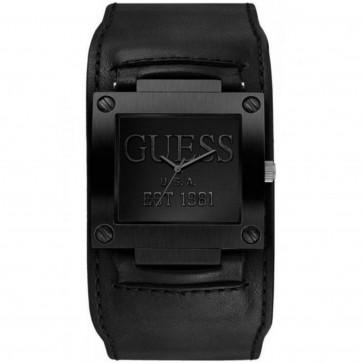 Pasek do zegarka Guess W0418G3 / W1166G2 Skórzany Czarny 19mm