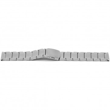 Horlogeband YI33 Staal Zilver 24mm