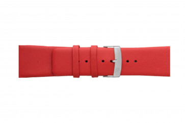 Morellato horlogeband Large X3076875083CR30 / PMX083LARGE30 Glad leder Rood 30mm