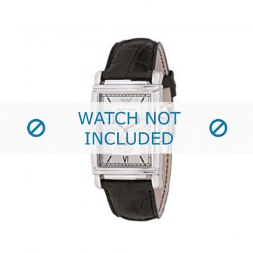 Pasek do zegarka Armani AR0284 Skórzany Czarny 22mm
