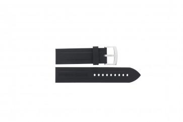 Pasek do zegarka Armani AR0527 / AR5826 / Vanille Krzem Czarny 23mm
