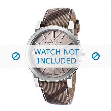 Pasek do zegarka Burberry BU9029 Skórzany Wielobarwność 20mm