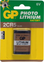 2CR5 / DL245 6volt batterij