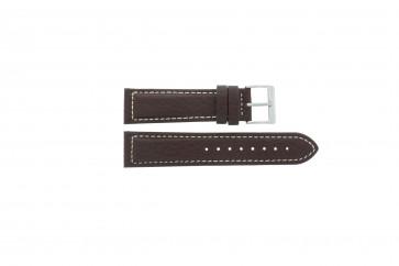 Pasek do zegarka Davis BB1021 / BB1023 Skórzany Brązowy 22mm