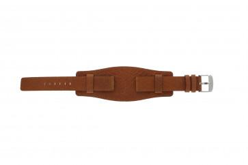 Pasek do zegarka WoW B0222 Skórzany Koniak 18mm