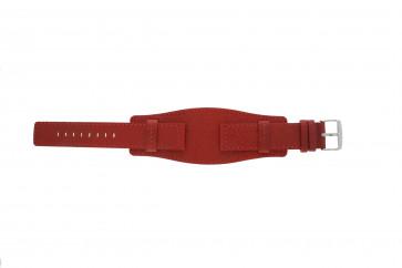 Davis Pasek Do Zegarka B0223 Skóra Czerwony 20mm