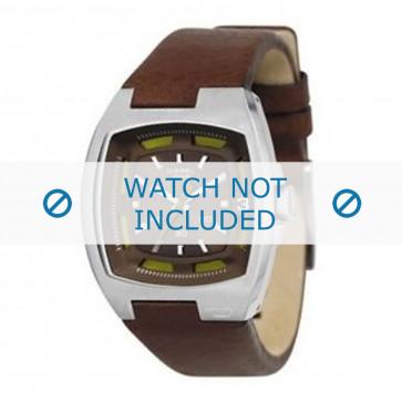 Pasek do zegarka Diesel DZ1101 Skórzany Brązowy 14mm