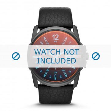 Pasek do zegarka Diesel DZ1657 Skórzany Czarny 27mm