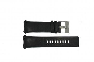 Pasek do zegarka Diesel DZ3034 / DZ3035 Skórzany Czarny 32mm