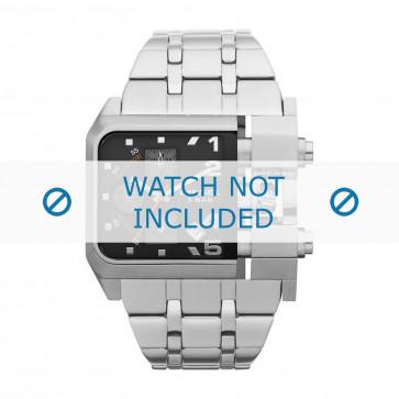 Diesel horlogeband DZ4228 Staal Zilver 36mm