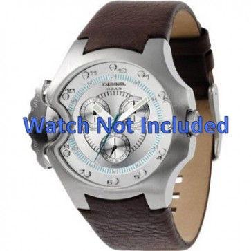 Pasek do zegarka Diesel DZ4132 Skórzany Brązowy 17mm