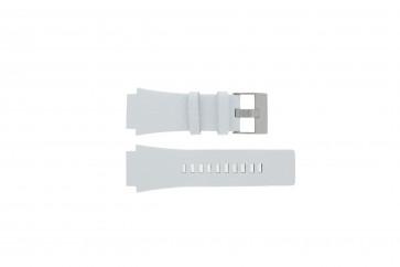 Pasek do zegarka Diesel DZ1449 Skórzany Biały 25mm