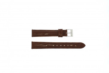 Pasek do zegarka Uniwersalny E360 Skórzany Brązowy 16mm