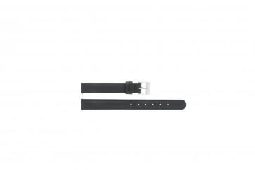 Pasek do zegarka Uniwersalny C012 XL Skórzany Czarny 12mm