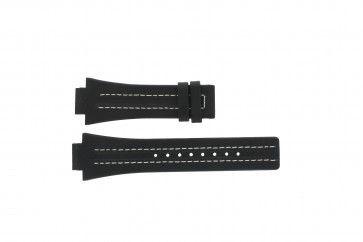 Pasek do zegarka Festina F16185 / 1 Skórzany Czarny 16mm