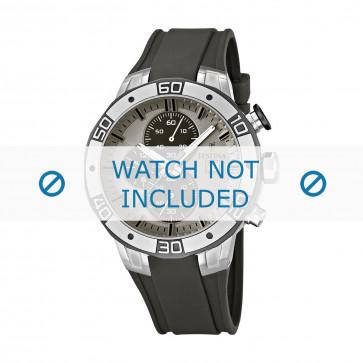 Festina horlogeband F16667-2 Rubber Grijs 26mm