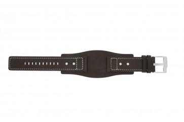 Pasek do zegarka Fossil JR9990 Skórzany Brązowy 24mm