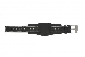 Pasek do zegarka Fossil JR9991 Skórzany Czarny 24mm