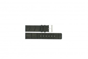 Pasek do zegarka Uniwersalny G810 Skórzany Szary 20mm
