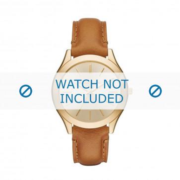 Pasek do zegarka Michael Kors MK2465 Skórzany Koniak 20mm