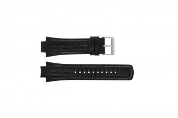 Pasek do zegarka YM62-X236 / PF3971X1 / PH083X Skórzany Czarny 15mm