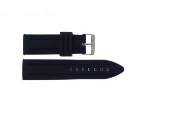 Pasek do zegarka Uniwersalny 253 Krzem Niebieski 26mm