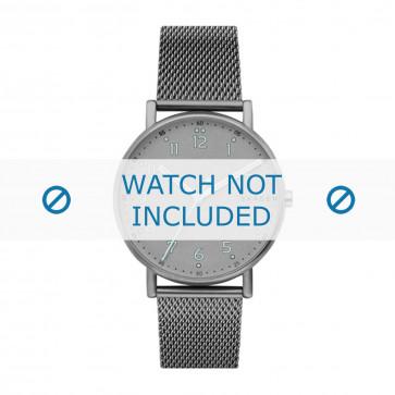 Skagen horlogeband SKW6354 Staal Grijs 20mm