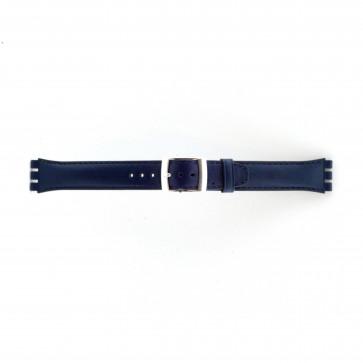 Strap Dla Swatch Marine Niebieski 19mm