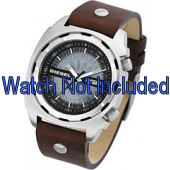 Pasek do zegarka Diesel DZ1197 Skórzany Brązowy 26mm