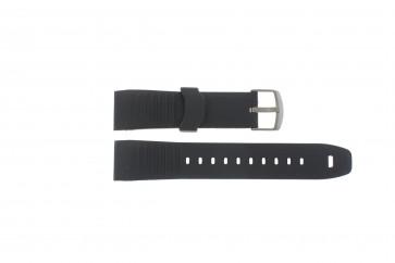Pasek do zegarka Timex TW2P44300 / TW2P44600 Gumowy Czarny 22mm