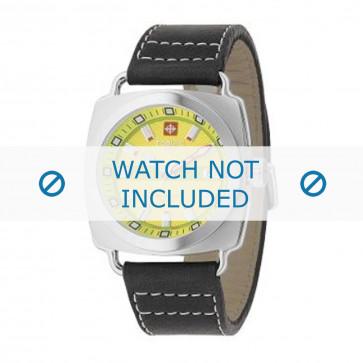 Pasek do zegarka Zodiac ZO2601 Skórzany Czarny