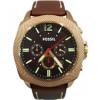 Pasek do zegarka Fossil BQ2032 Skórzany Brązowy 24mm
