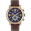 Pasek do zegarka Fossil BQ2102 Skórzany Brązowy 24mm