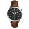 Pasek do zegarka Fossil FS5394SET Skórzany Brązowy 22mm