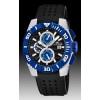 Pasek do zegarka Lotus 15778-D Gumowy Czarny 26mm